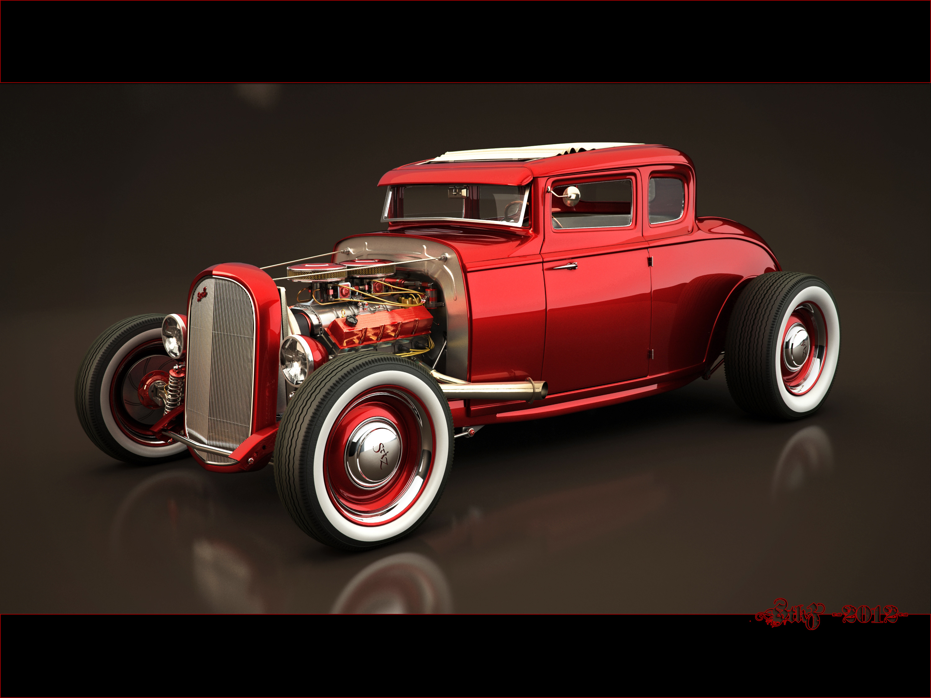 Hot Rod Wallpapers   A Link to the Past   MuscleDrive 3000x2250
