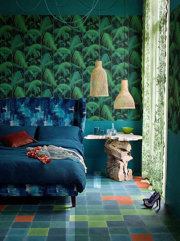 Cole and Son jungle wallpaper 628x838