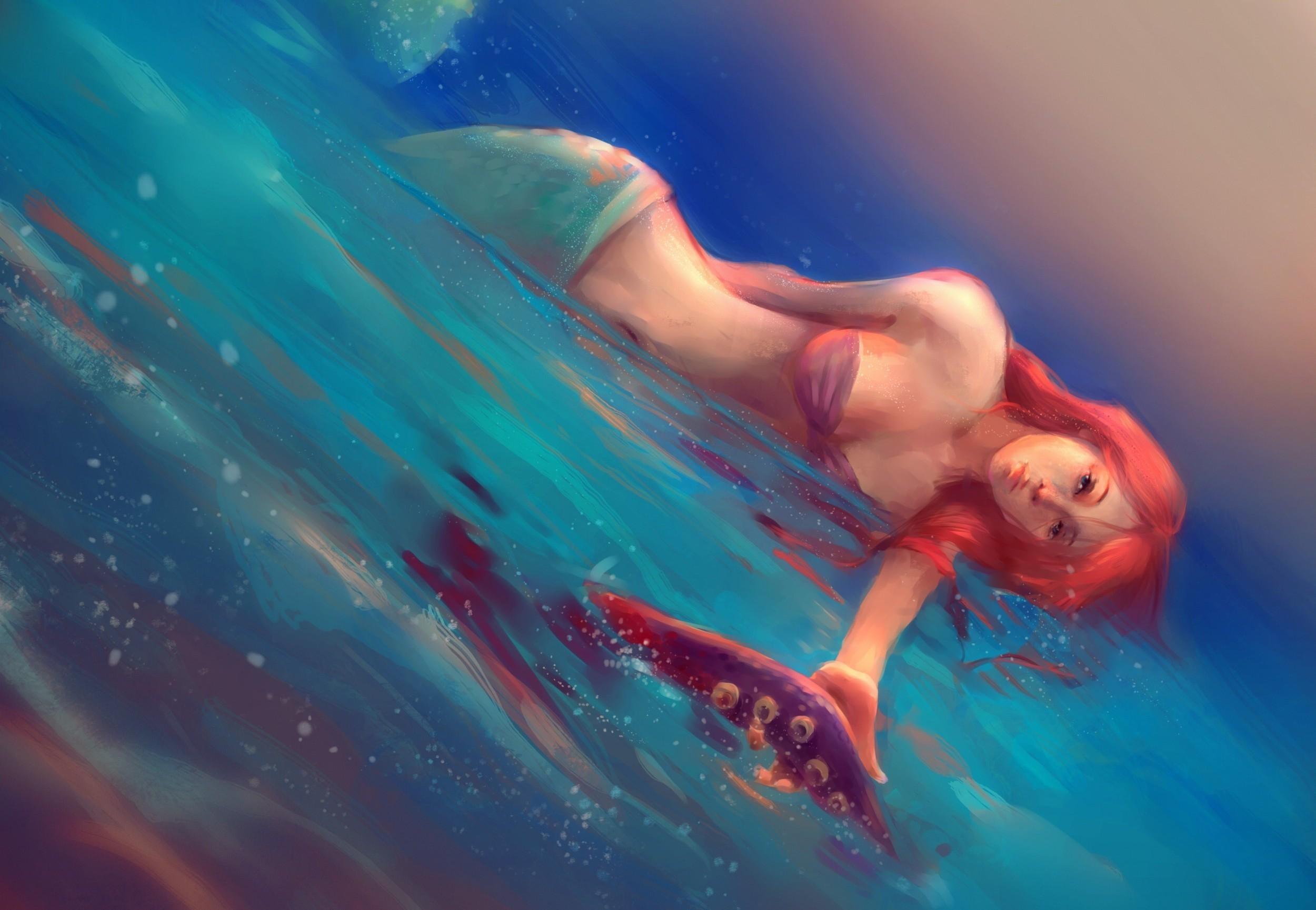 Anime Mermaid Wallpaper