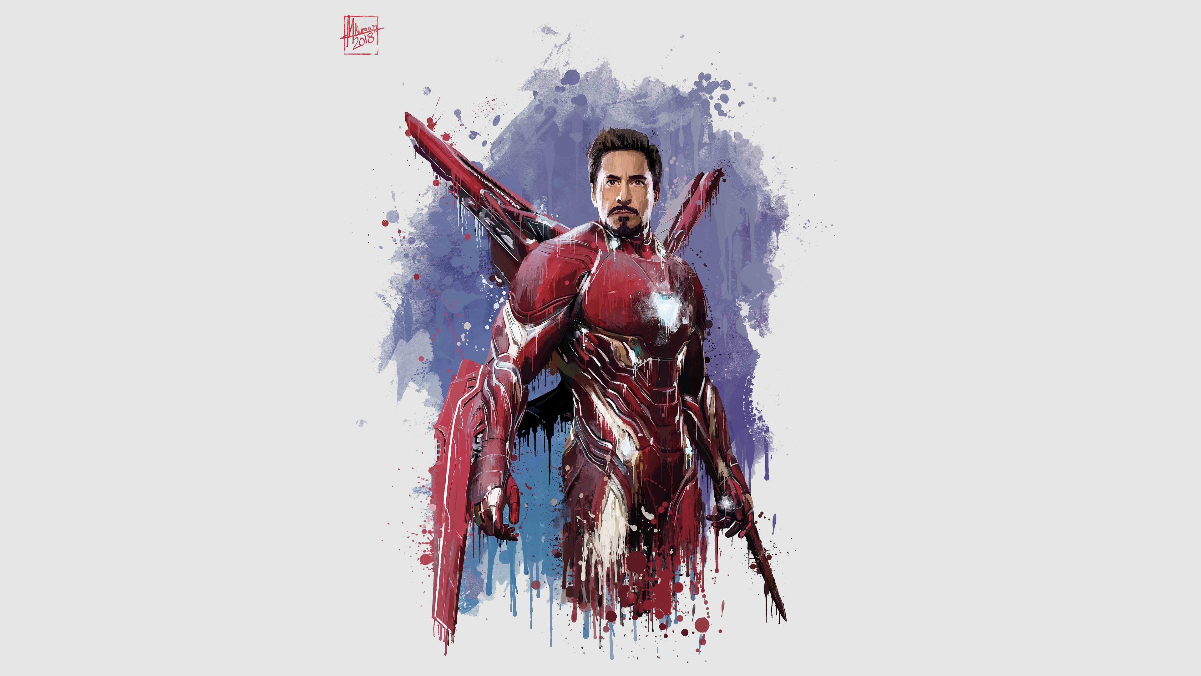 18+] Iron Man Infinity War 4K Wallpapers on WallpaperSafari