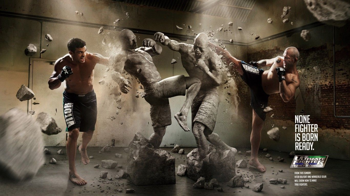 UFC Artwork Photo Wallpaper Download Wallpaper from 1366x768