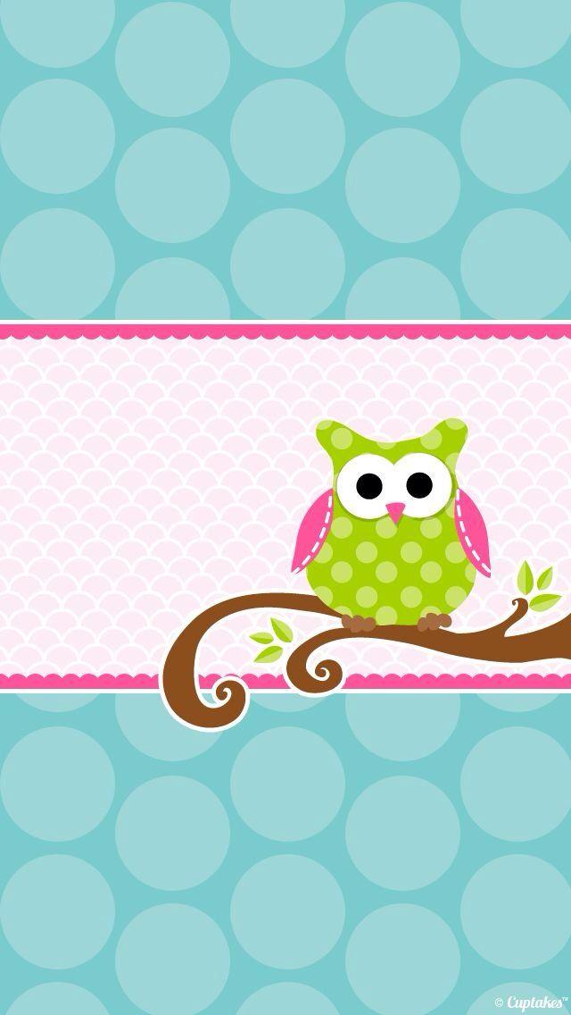 Cute owl phone Cute Phone Wallpaper Pinterest 640x1136