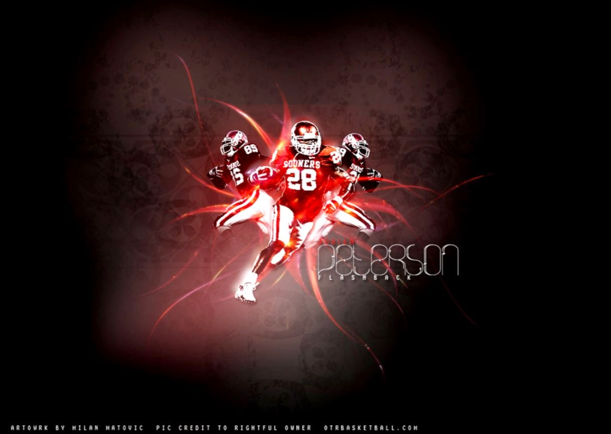 Wallpapers Adrian Peterson Oklahoma Sooners wallpaper 1216x864