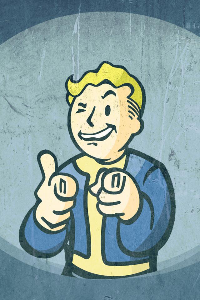 48 Fallout Pipboy Iphone Wallpaper On Wallpapersafari