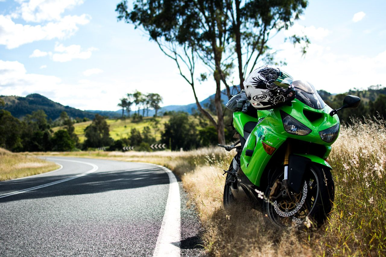 05 Kawasaki ZX6R 636 Oxley Highway NSW HD Wallpaper From 1280x853