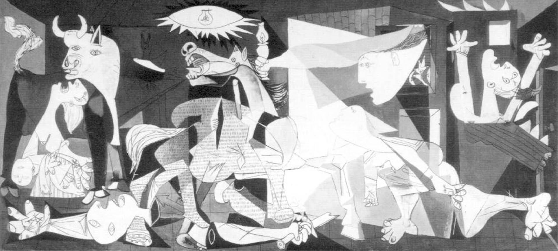 Guernica Wallpaper Hd Images P 1920x864