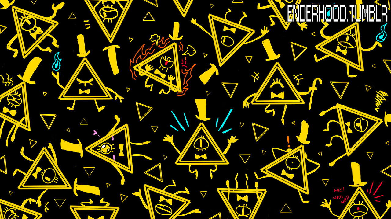 Bill Cipher Wallpaper Just A Little Contribute To Gravity   Bill 1280x720