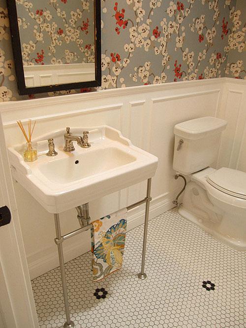 25 Astounding Bathroom Wallpaper Ideas CreativeFan 500x667
