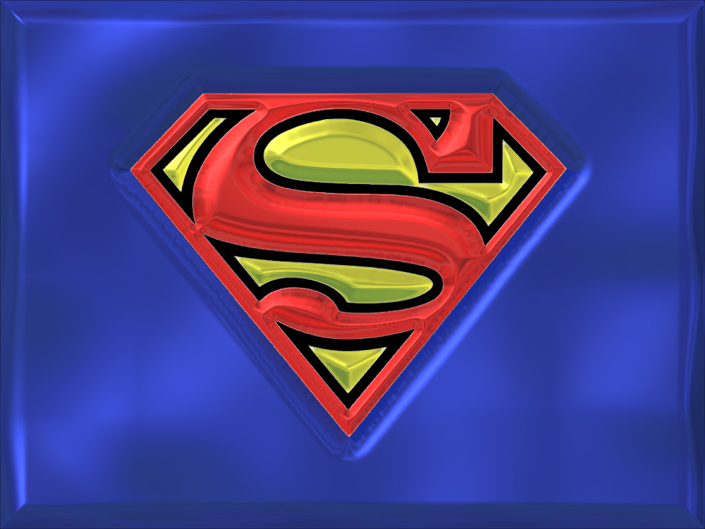 Superman S Symbol Shield Wallpaper PelautsCom 1024x768