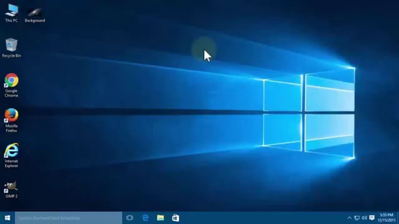 How to change desktop background image in Windows 10   Tutorial 1280x720