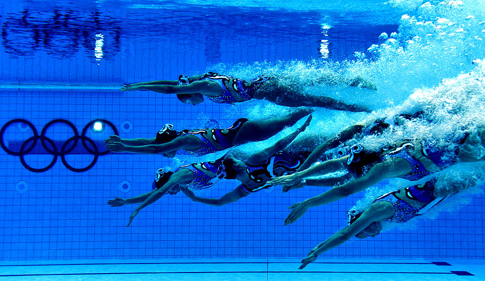 Underwater Photos At The London 2012 Olympic Games   Framework .