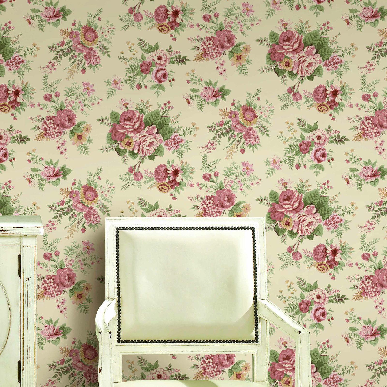 46 Victorian Flower Wallpaper On Wallpapersafari