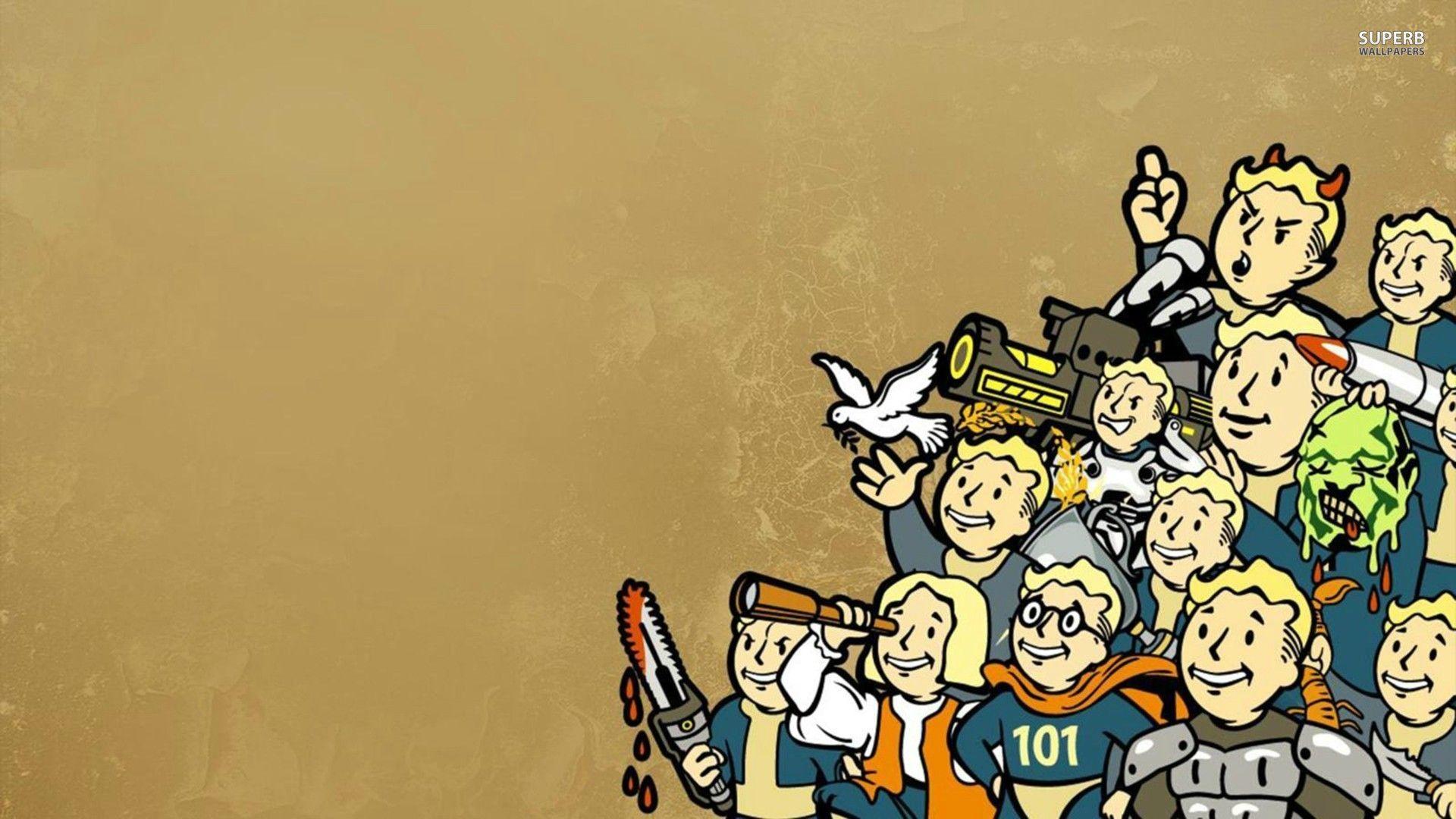 Vault Boy   Fallout wallpaper   Game wallpapers 1920x1080