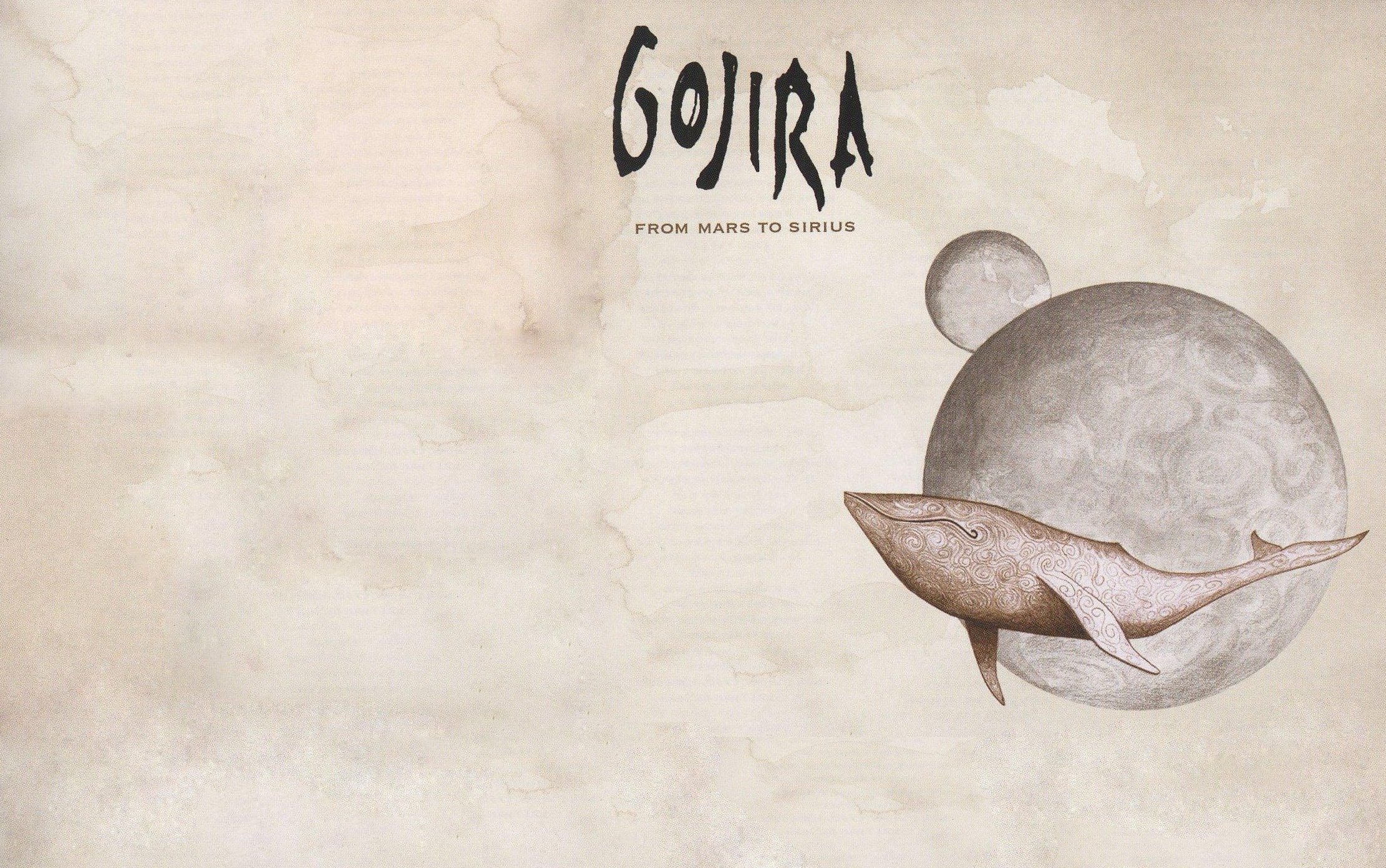 flying mars whales gojira 2222x1392 wallpaper High Quality 2222x1392