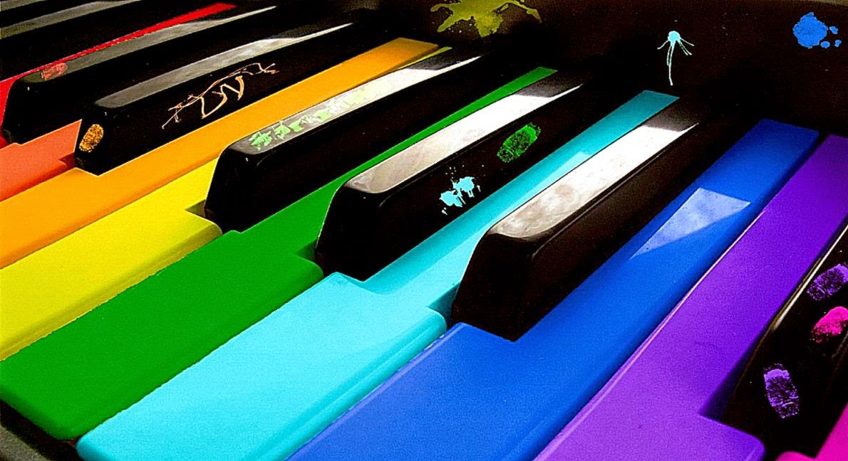 Piano Colorfull Wallpapers Hd Desktop Wallpaper Background Gallery 1190x648
