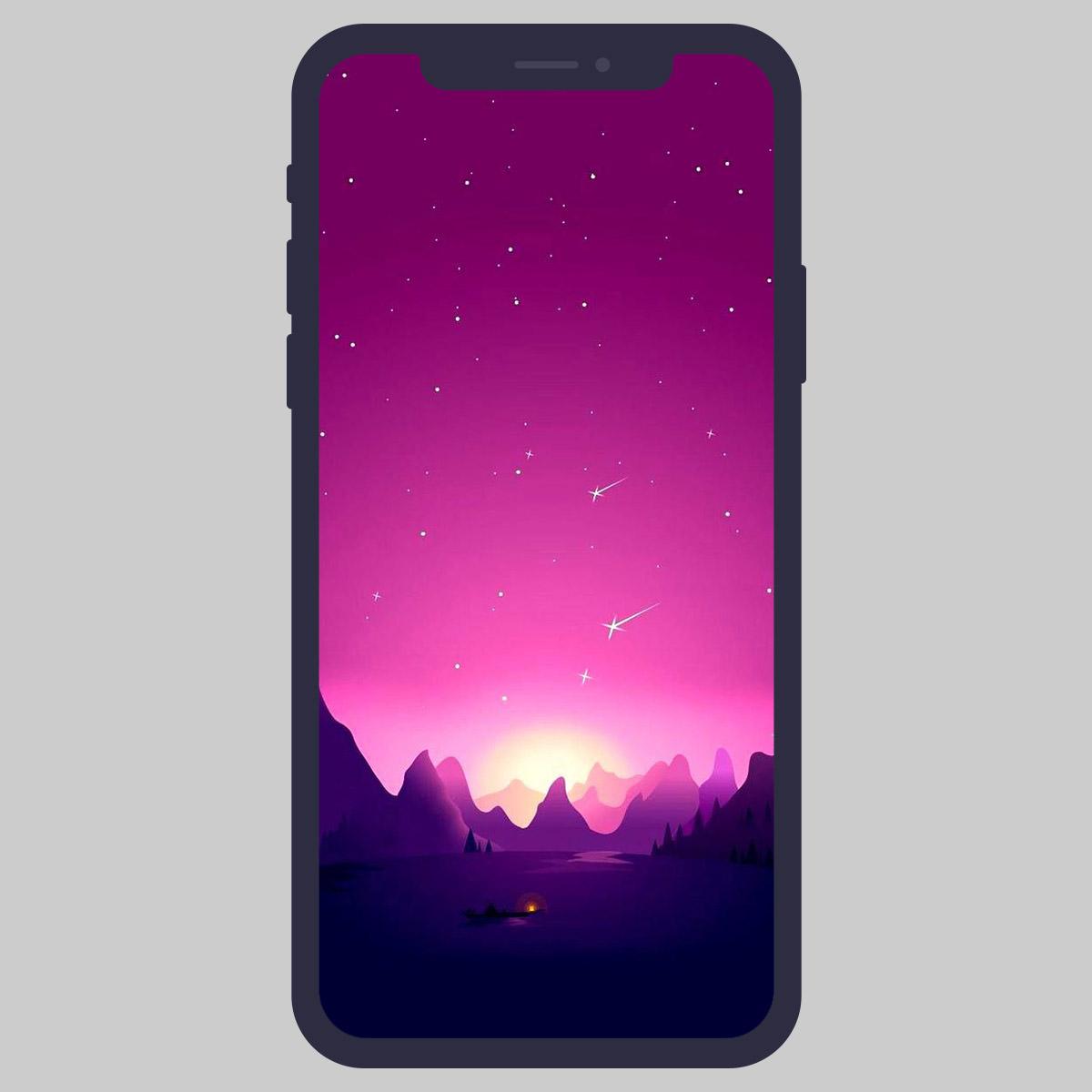 30 Minimalist Mobile Wallpapers 2020   Hongkiat 1200x1200