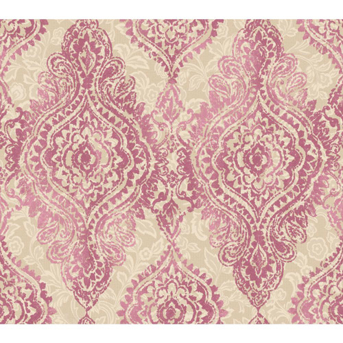 Pink Traditional Wallpaper Bellacor Pink Traditional Poster Pink 500x500