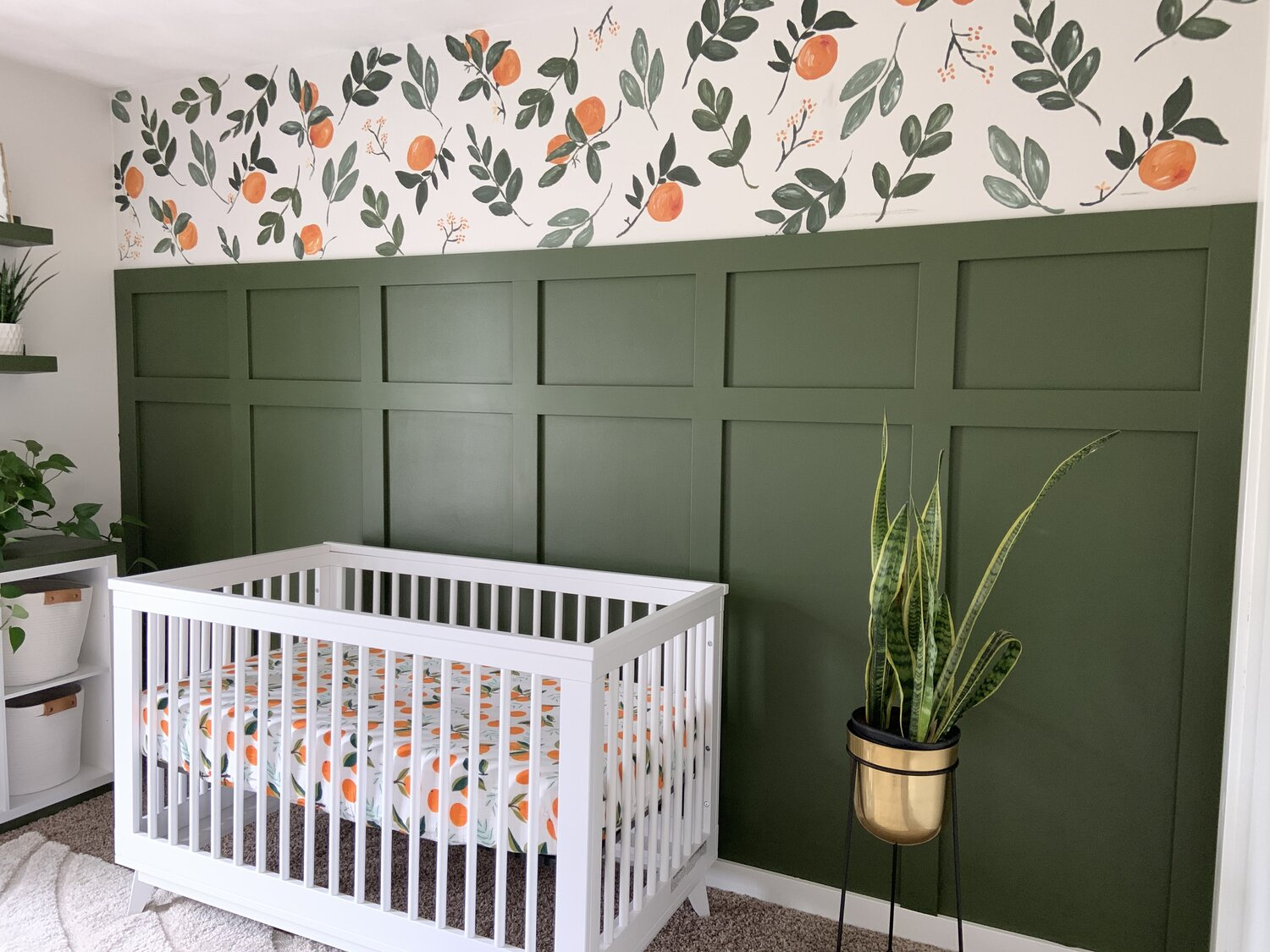 How to recreate a wallpaper accent wall using paint greywoodmama 1500x1125