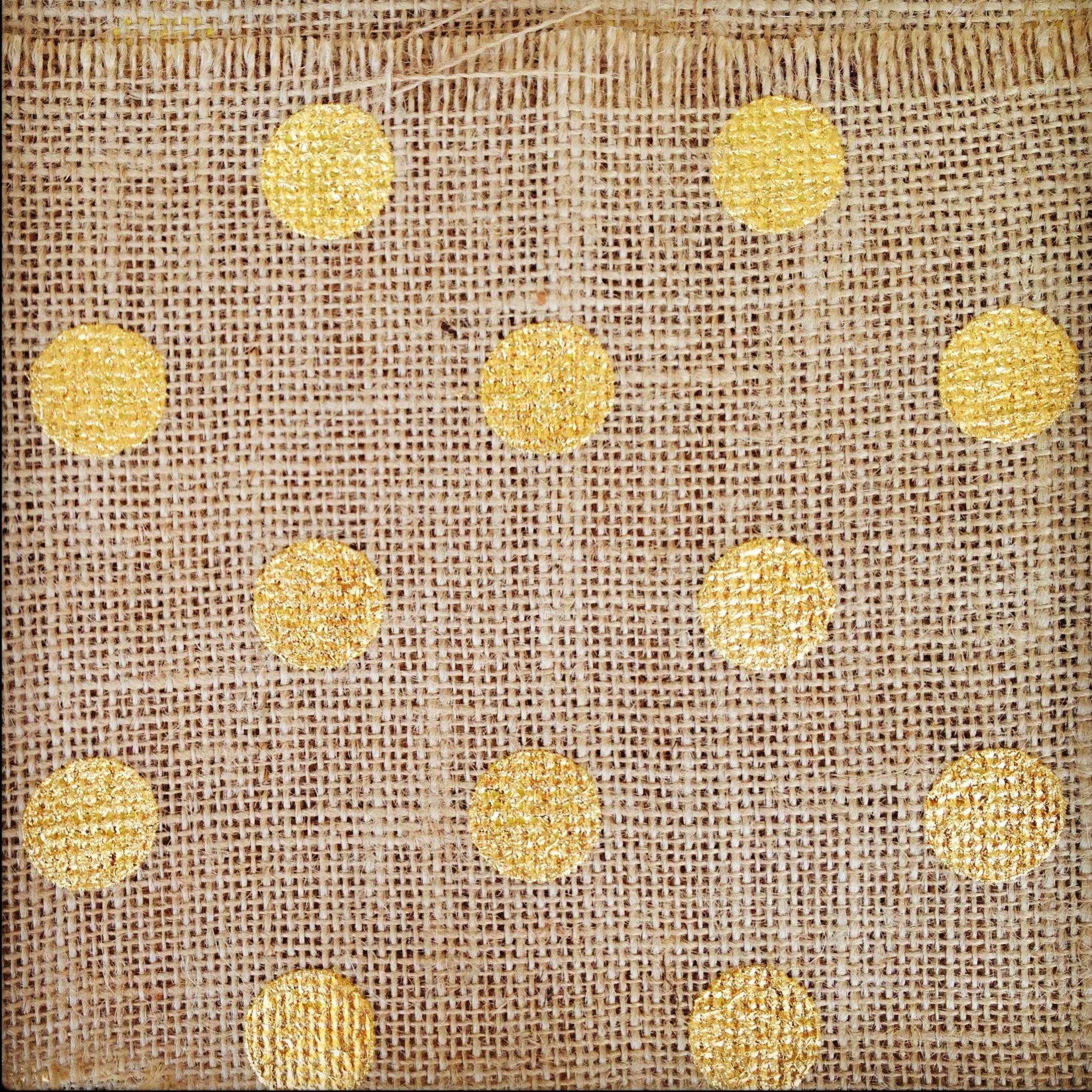 Gold Polka Dots Wallpaper When i saw this gold polka dot 2132x2132