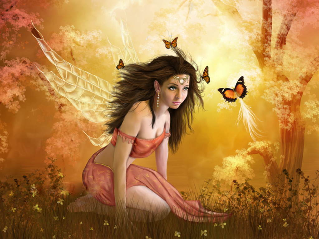 Fairy background Fairies wallpapers 1024x768