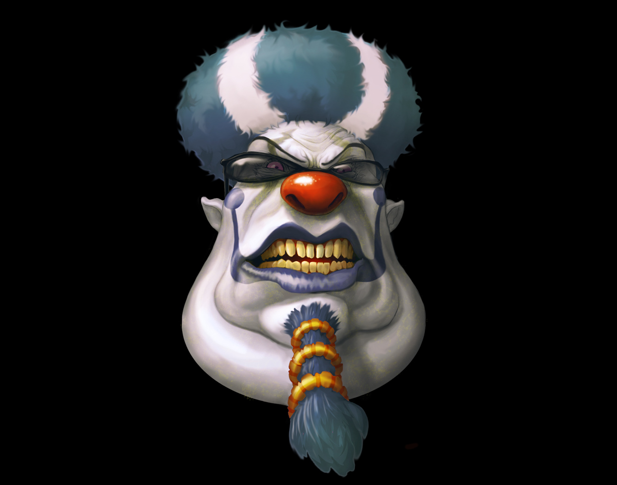 Scary clown wallpaper 1236x972