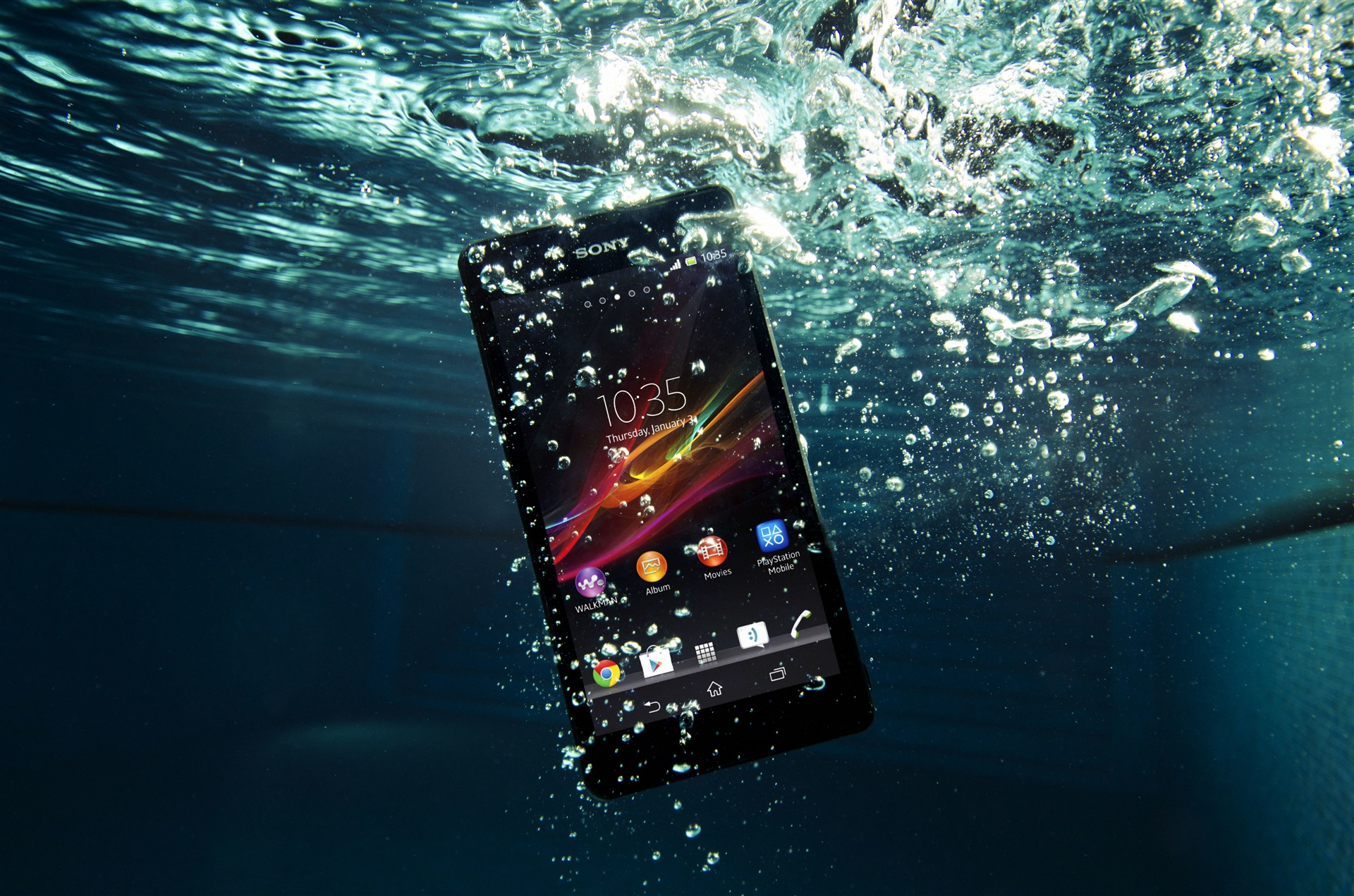 4K wallpaper   Hi tech   xperia mobile sony waterproof zr 1920x1271