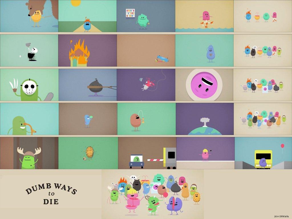 Dumb Ways to Die Wallpaper - WallpaperSafari