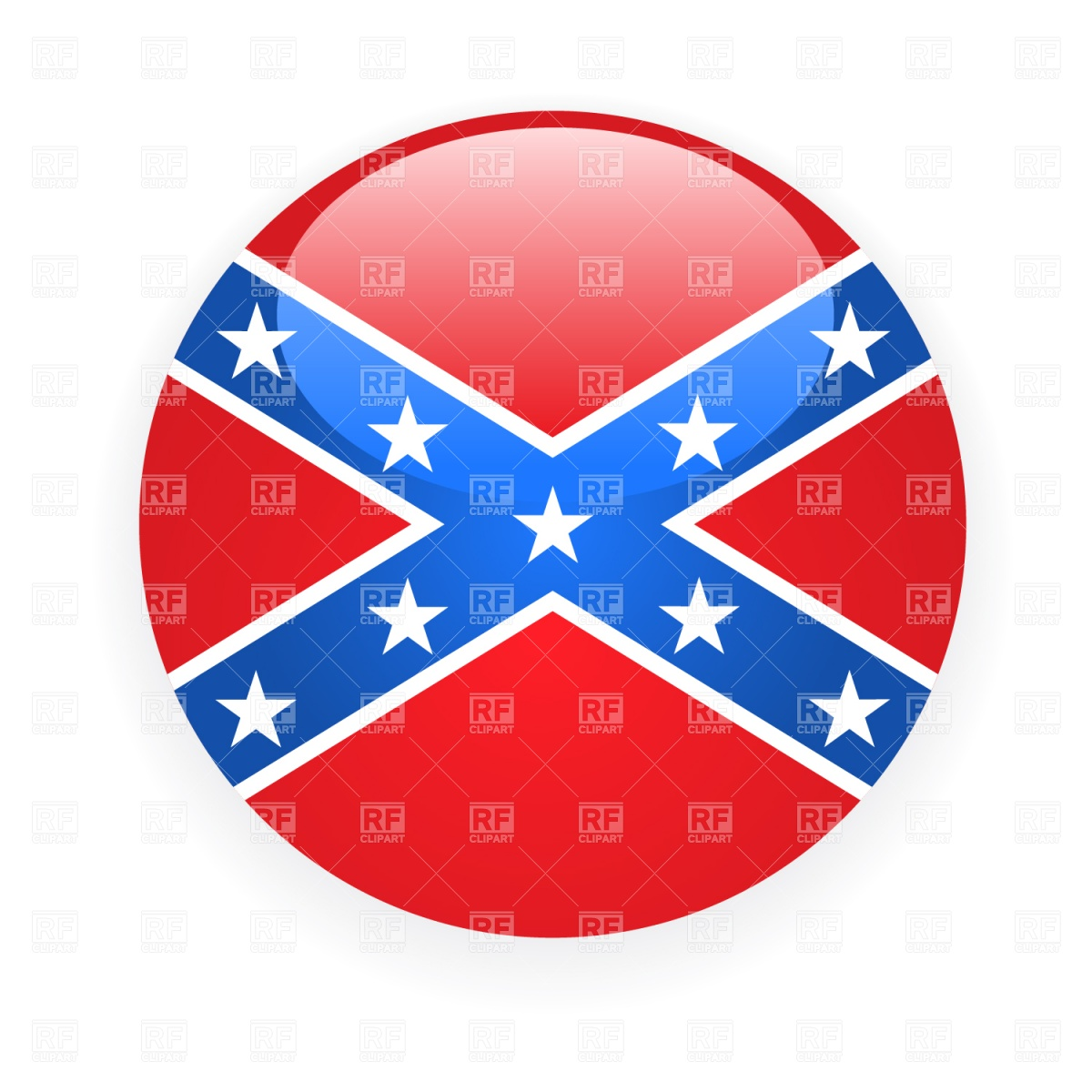 Confederate rebel flag icon 1483 Signs Symbols Maps download 1200x1200
