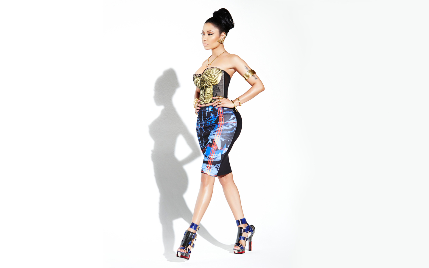 Nicki Minaj secret shoot   Nicki Minaj Wallpaper 37423953 1440x900