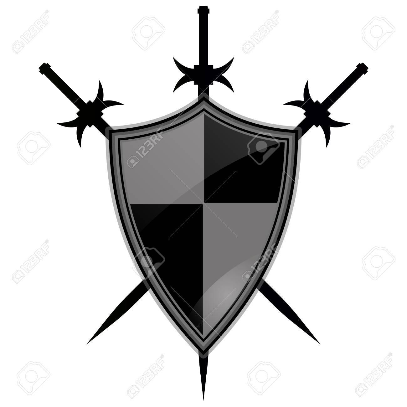Templar Armor Battle Cross Knight Red Shield Ancient 1300x1300