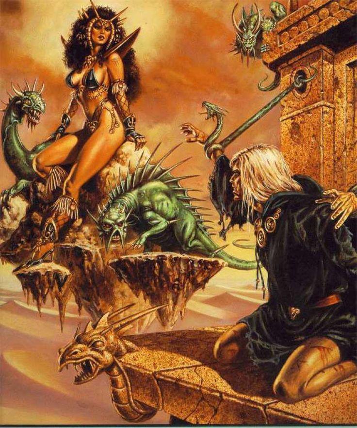 Dragonlance Raistlin and Takhisis Dragonlance Pinterest Dark 736x882