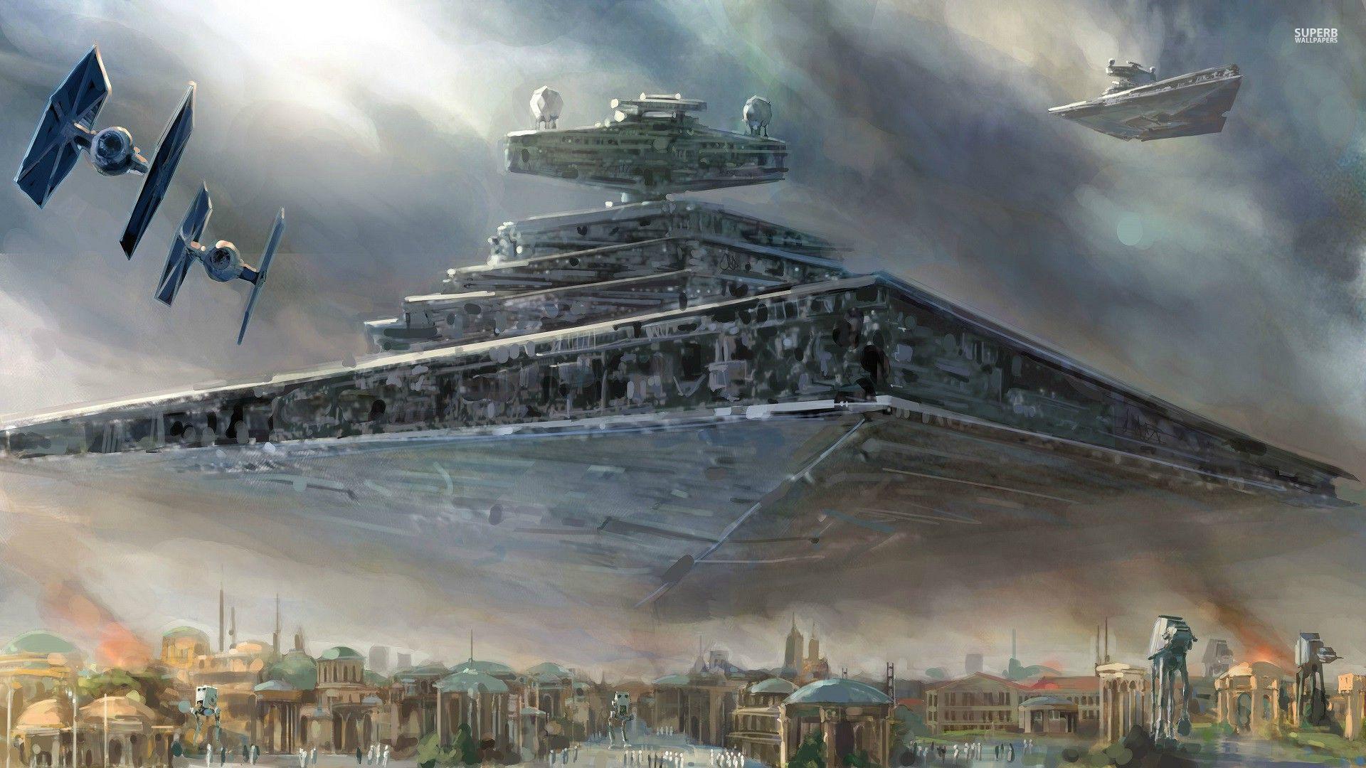 High Resolution Star Wars Ships Widescreen HD Wallpaper 1920x1080