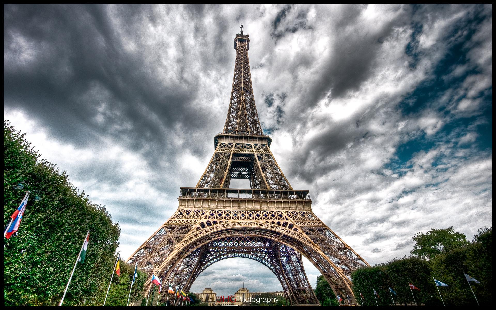 природа страны архитектура Марсово поле Париж Франция  № 824112 загрузить