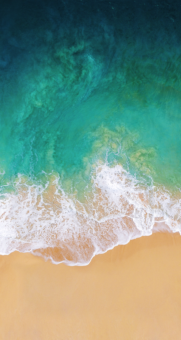 Download the Real iOS 11 Wallpaper for iPhone   iClarified 744x1392