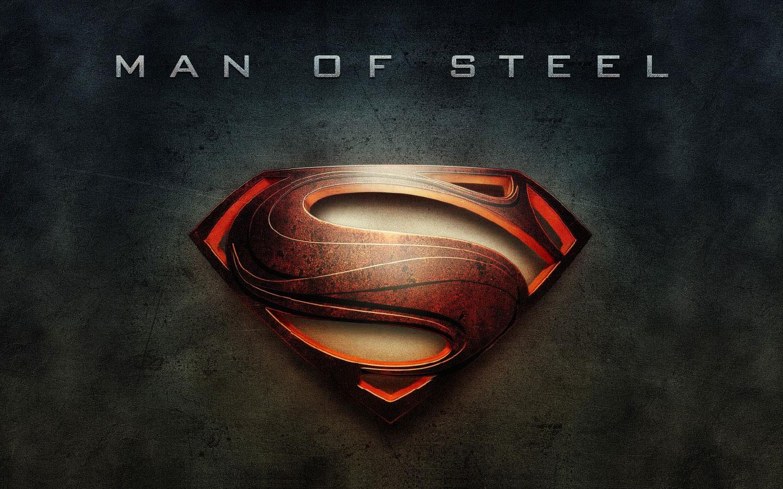 Man Of Steel Wallpaper Movie Logo 1440x900