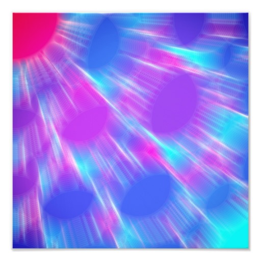 Unfocused Blue Pink and Purple Background Photographic Print Zazzle 512x512