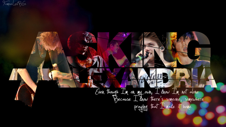 Asking Alexandria Wallpaper By Lastonesleft 900x506