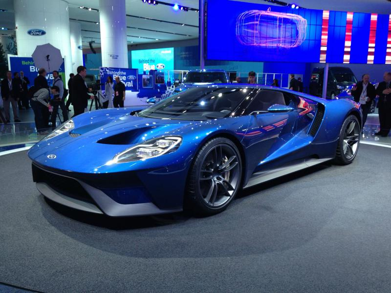 New Car Wallpaper The New Ford GT Supercar New Car Wallpapers 800x600