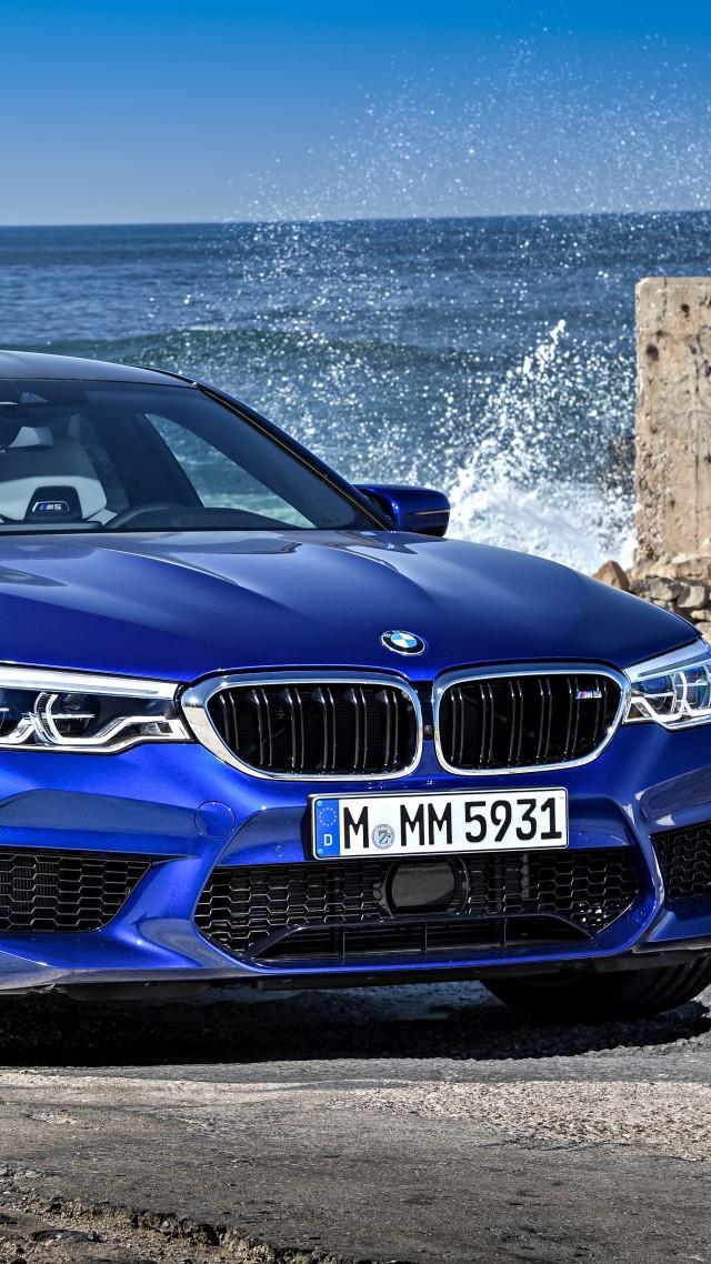 Wallpaper BMW M5 Cars 2018 5k Cars Bikes 17135 640x1138