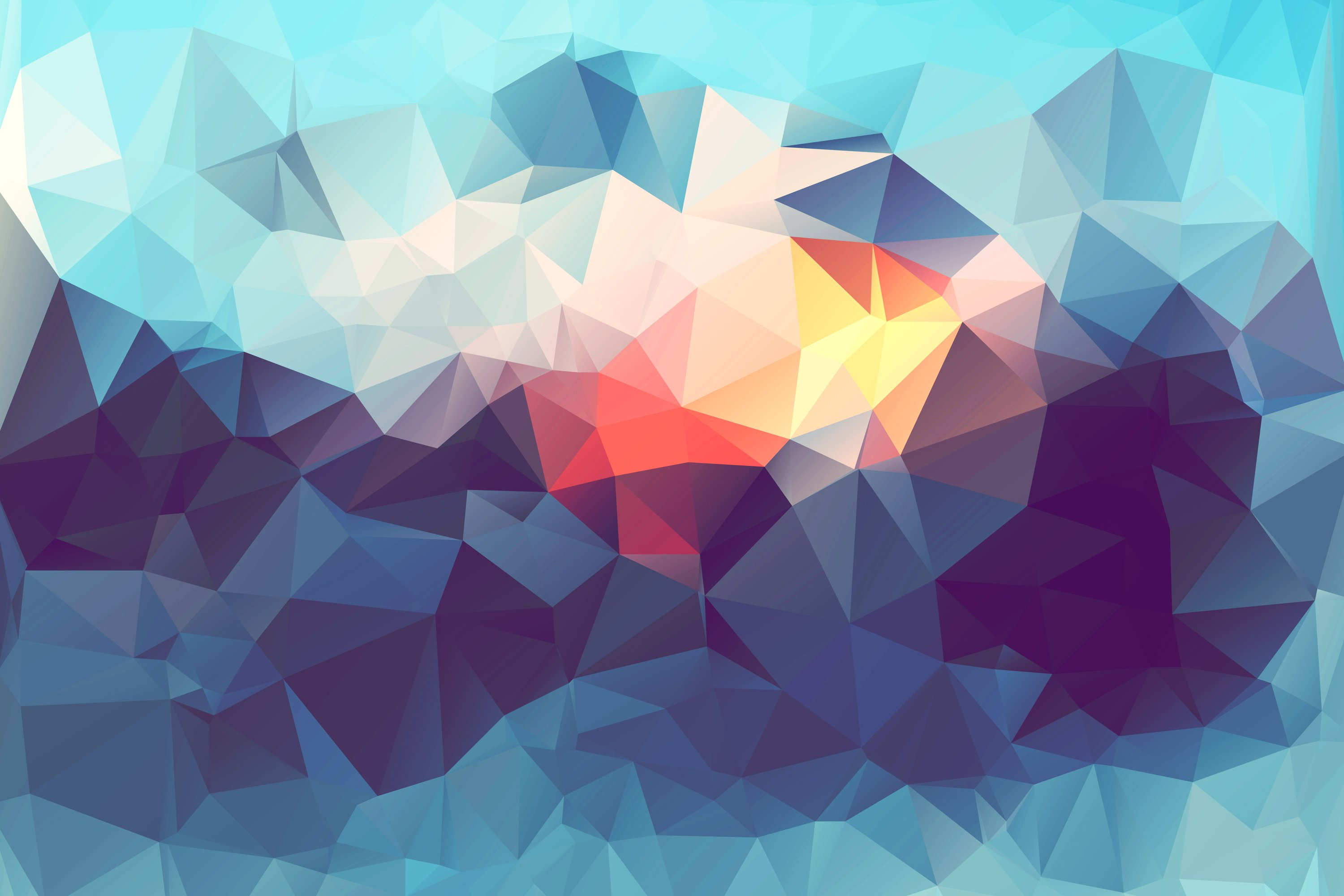 abstract low poly hd wallpaper HD Wallpapers 3000x2000