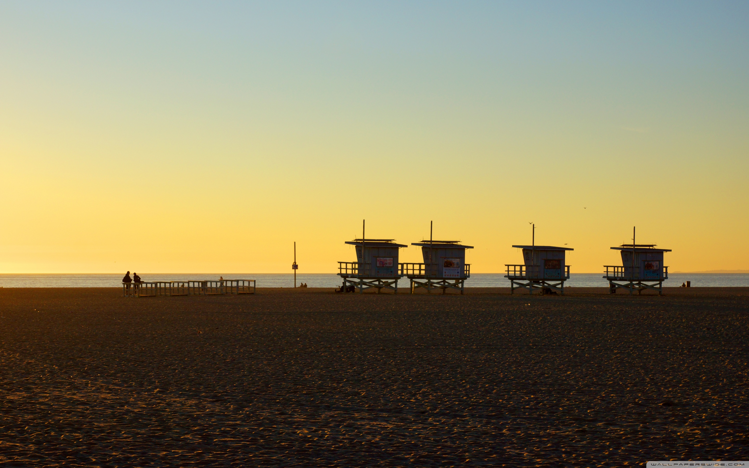 Los Angeles Venice Beach 4K HD Desktop Wallpaper for Dual 2880x1800