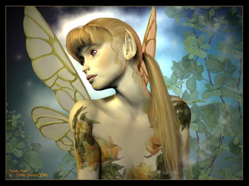 ... Designs Wallpaper: Beautiful Fairies Wallpapers Dark Fairy Myspace