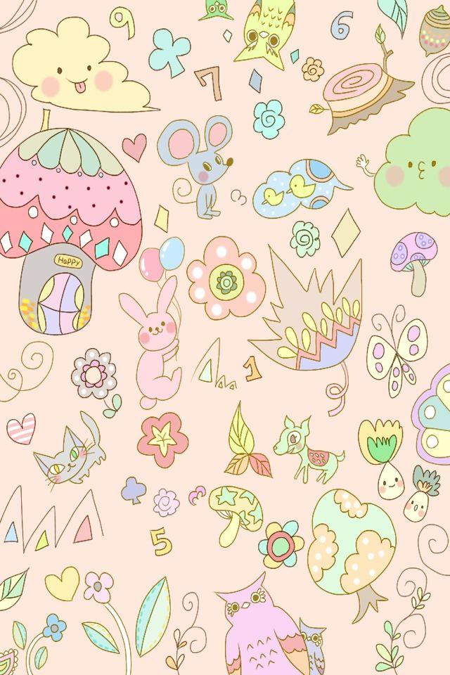 Pin Tumblr Willcute Kawaii Wallpaper Cute Wallpapers 640x960