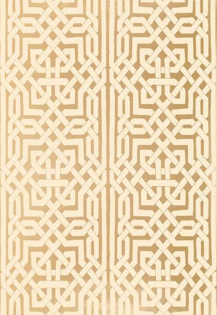 Malaga Wallpaper Gold   Transitional   Wallpaper   by Covered In 440x640