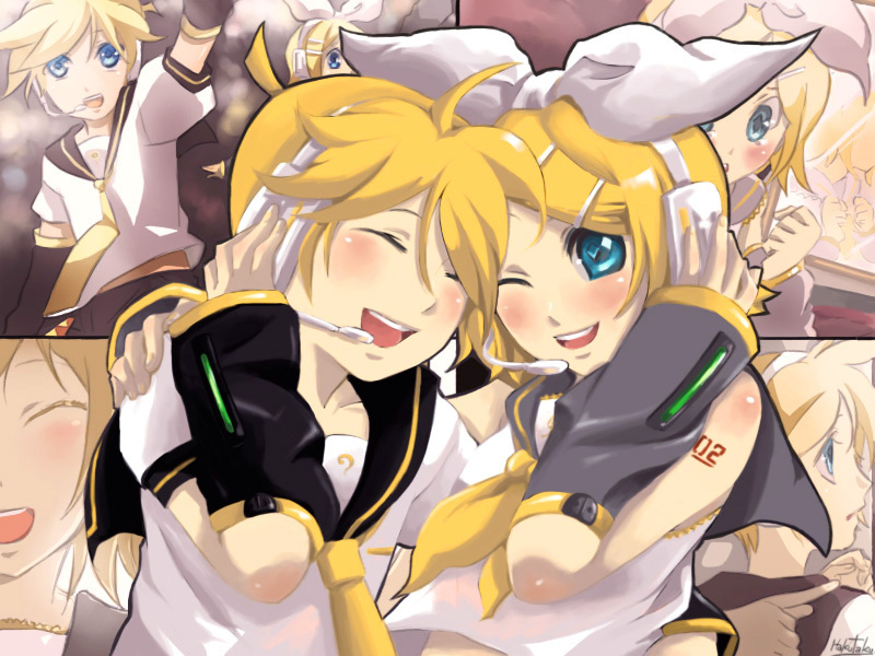Rin and Len Kagamine images from Cr~ wallpaper photos (13332432)