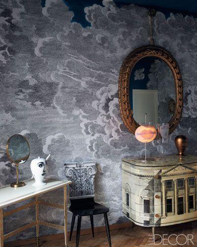 fornasetti wallpaper Aesthetically Pleasing Functional Pinterest 400x500