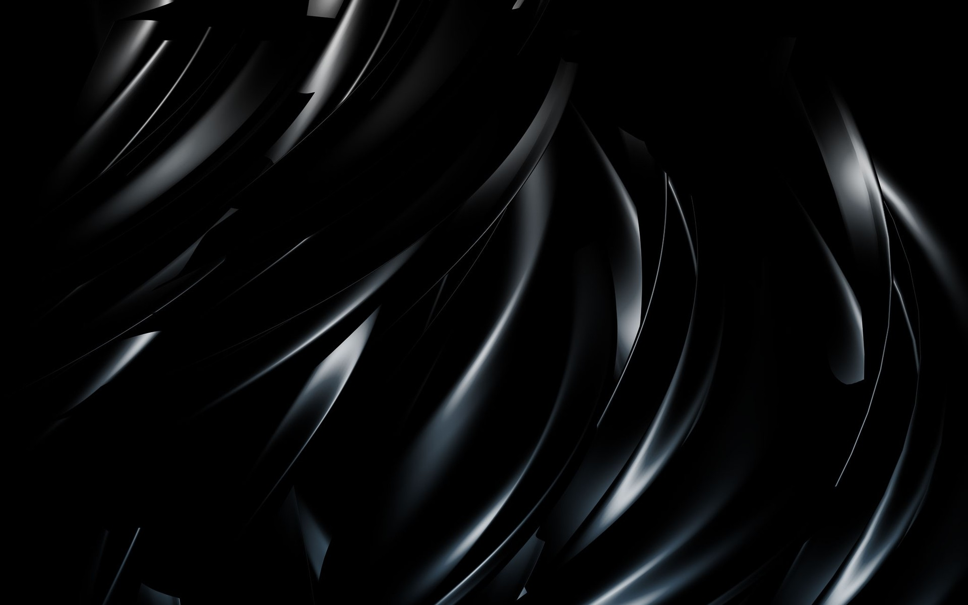3D Abstract Black Wallpaper   Cool PC Wallpapers 1920x1200