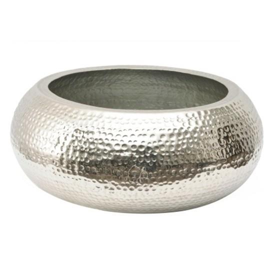 Hammered metal drum bowl from Artisanti Oriental design ideas 550x550