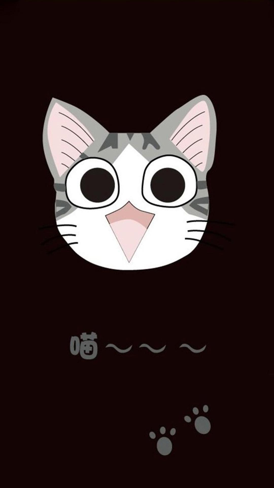 46+ Cute Cartoon Cat Wallpaper on WallpaperSafari