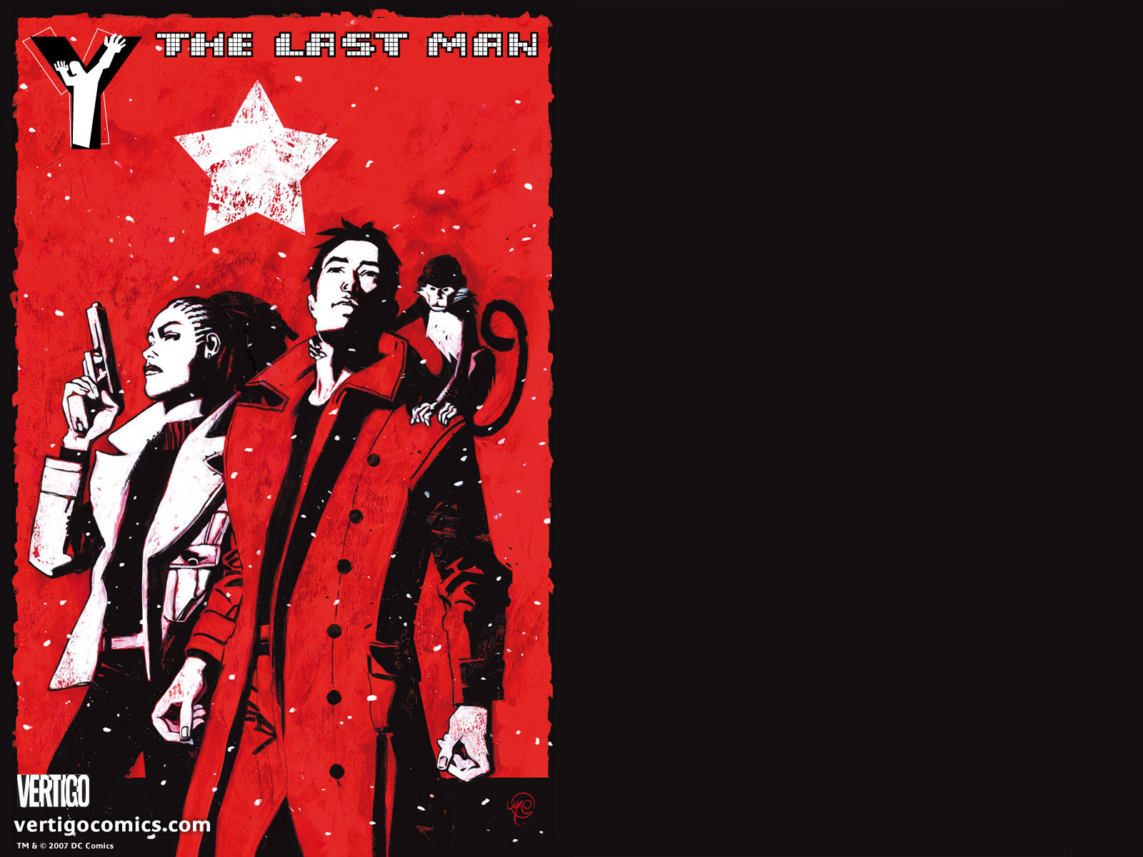 Y The Last Man images Official Vertigo Wallpapers Y The Last 1600x1200